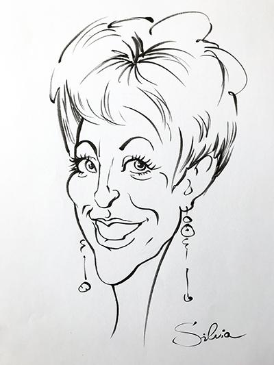 Schnellzeichner-Silvia S'Orell ( Silvia Sorell )