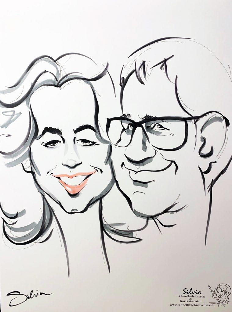 Schnellzeichner - karikaturist Berlin -Silvia S'Orell ( Silvia Sorell )