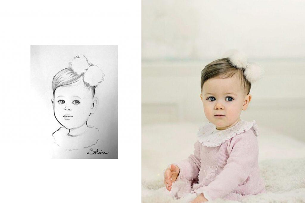 Live Event Portrait Kids - Schnellzeichner Silvia