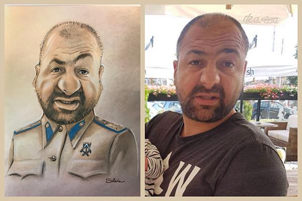 Portrait- Karikaturen vom Foto
