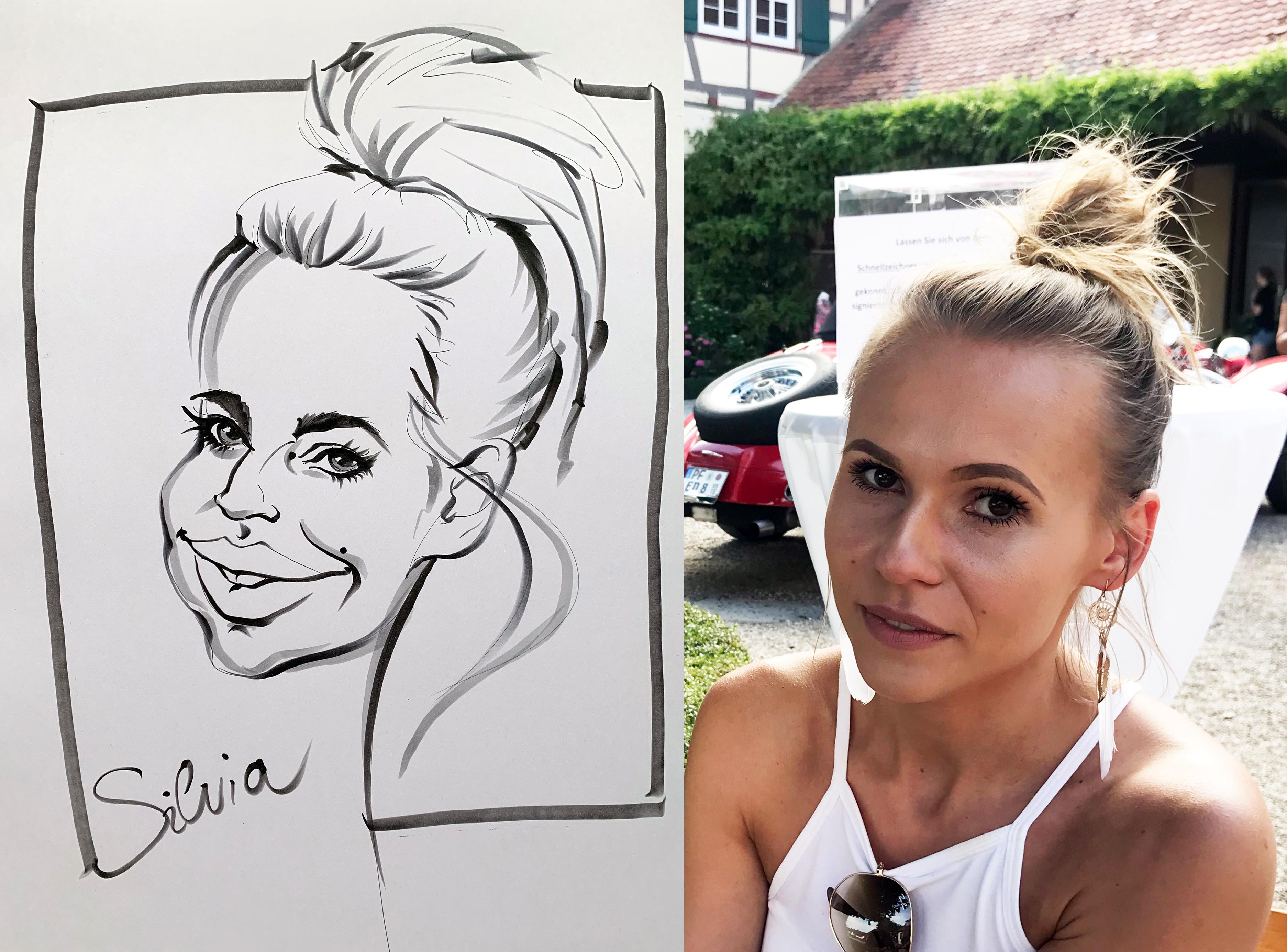 Schnellzeichner - karikaturist Silvia S'Orell ( Silvia Sorell )